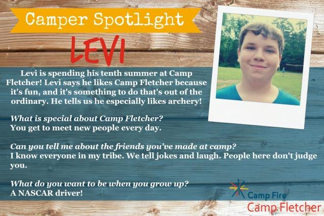 Levi camper spotlight